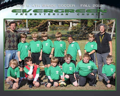 Evergreen 3rd 4th Soccer Fall 2012 serious