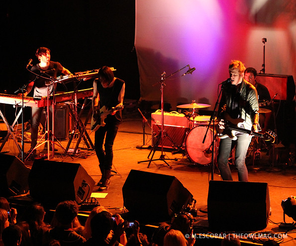 Divine Fits @ The Fonda Theatre, LA 11/05/12