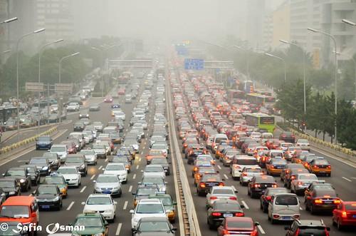 北京的街道。(來源:Safia Osman)
