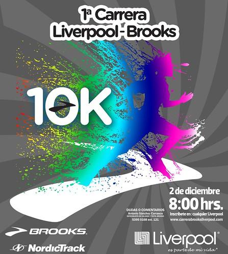 Carrera Liverpool Brooks 10K
