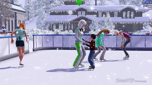 Как сделать в симс 3 новый год
