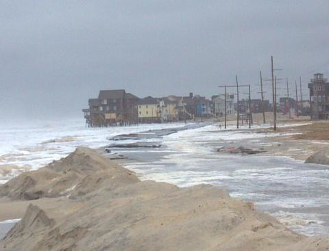 Impacts of Nor'easter on N.C. 12