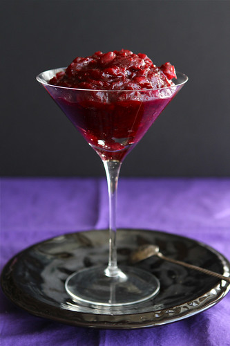 Boozy Cranberry Sauce Recipe with Port Wine & Cloves by Cookin' Canuck