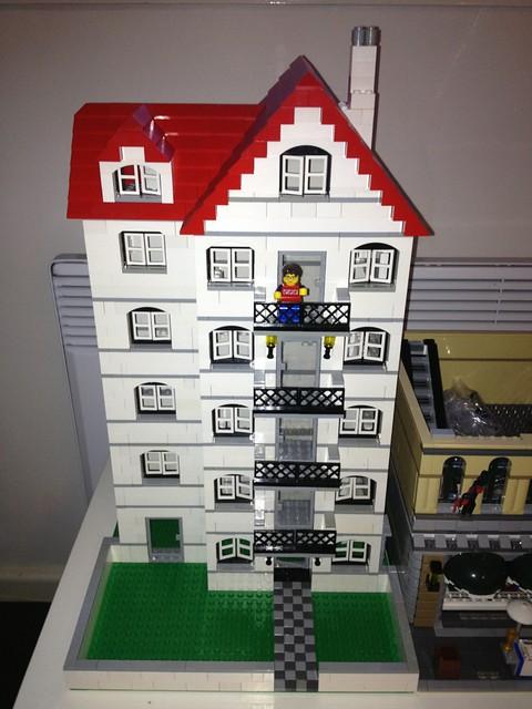 Lego 4956 House x 4