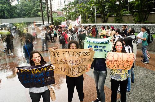 São Paulo (SP) • Ato Nacional em Solidariedade aos Guarani Kaiowa • 09/11/12