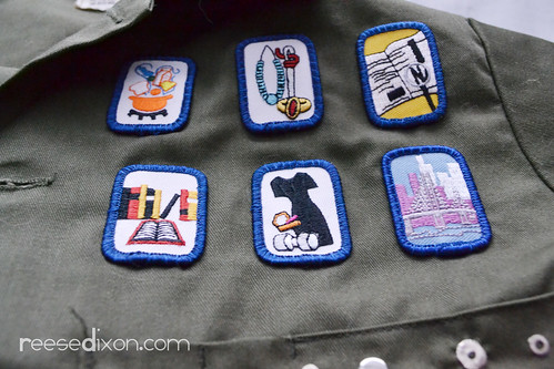 Military Jacket Makeover Step 2