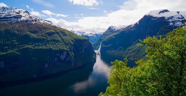 Geirangerfjorden, Sunnmøre, Norway