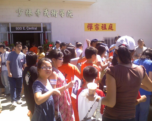 2008-8-9「California Shaolin Temple Grand Opening Ceremony」