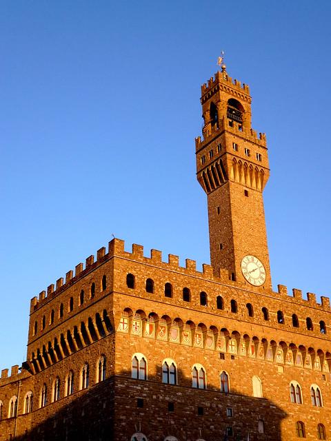 Florence - jour 1 - 088 - Piazza della Signoria - Palazzo Vecchio