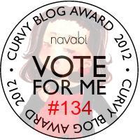 navabi curvy blog award 2012