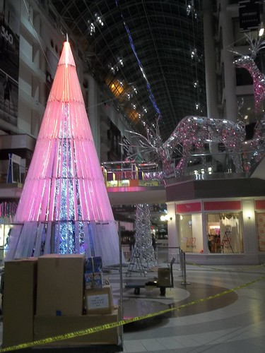Christmas at the Eaton Centre