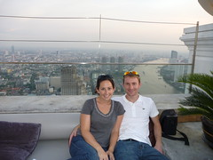 Kristen and Ryan at Distil in State Tower