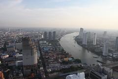Bangkok skyline from Distil 1