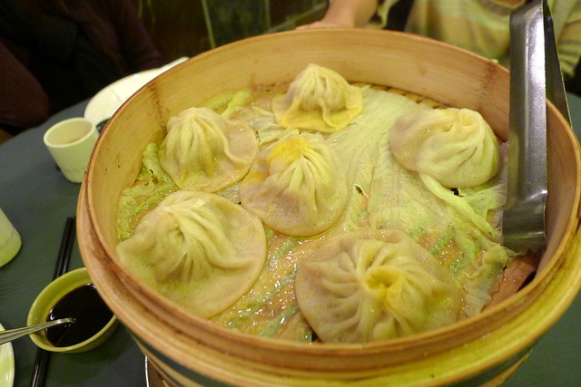 crab roe xiao long bao