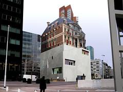 ontwerp MVRDV museum rotterdam uit 2008