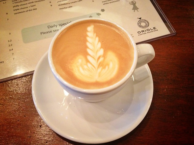 Flat White, Oriole Coffee Roasters, Singapore