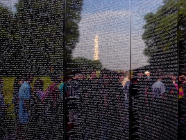 Washington DC Vietnam Veterans Memorial Wall Flickr