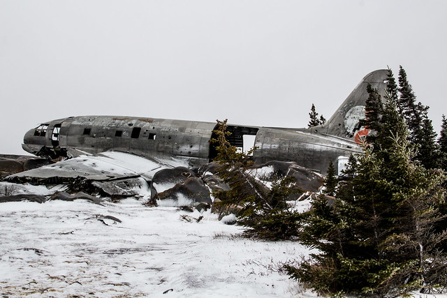 Crashed Airplane, Churchill