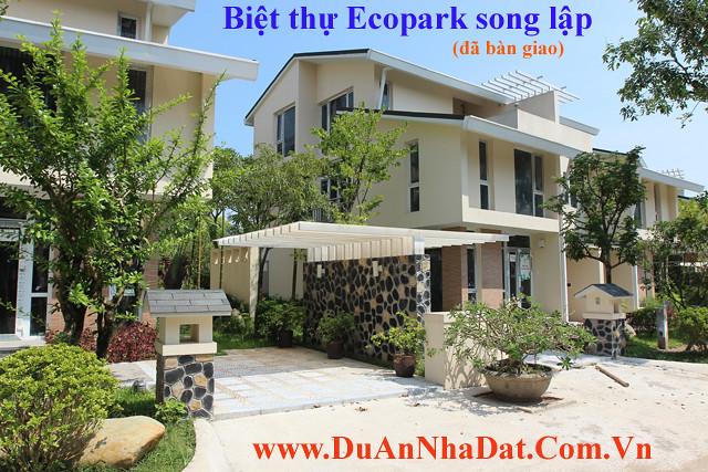 Biệt thự Ecopark song lập đã bàn giao