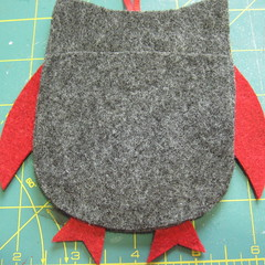 Iron Craft Challenge #23 - Felt Gift Card Holders