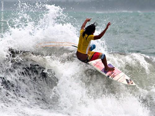 Surfing Baluarte, Surigao Del Sur