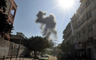 Gaza bajo fuego