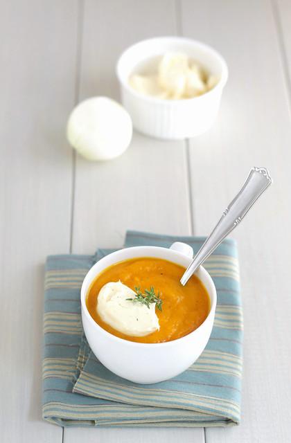 Creme froide des carottes