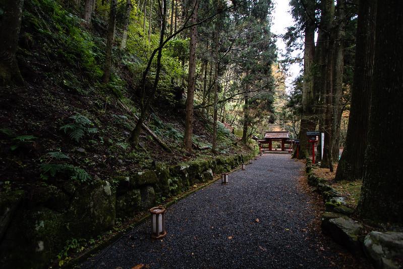 貴船神社 奥宮への参道