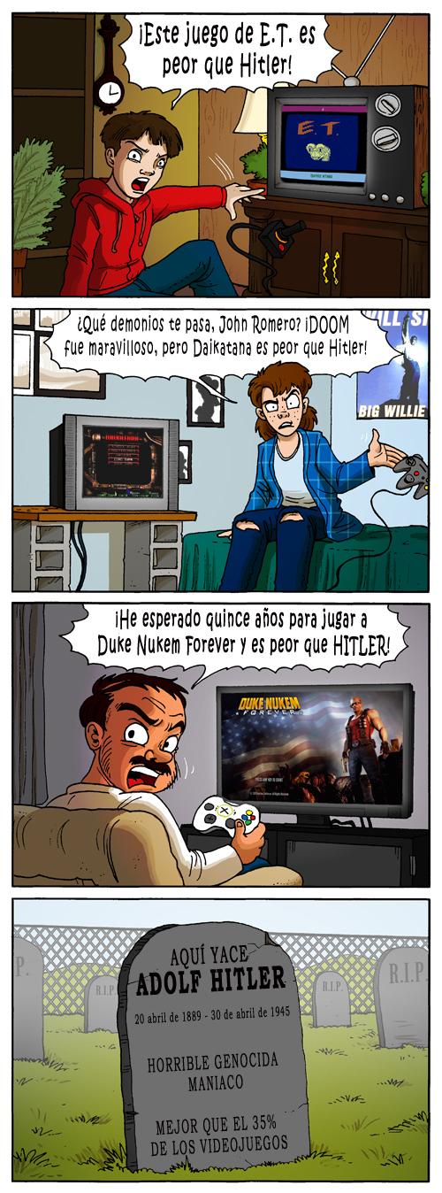 Una desafortunada comparación