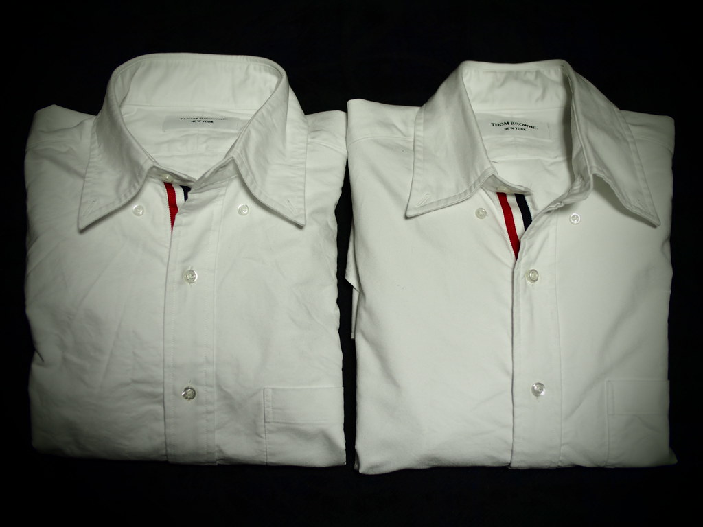 THOM BROWNE | White Oxford Shirt