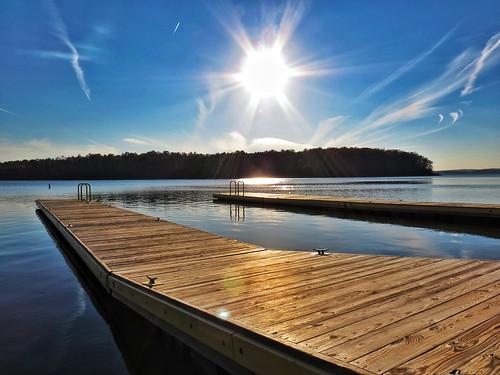sunlight nc dock ramp northcarolina jordanlake canonsx40hs