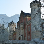 Neuschwanstein Castle, built by King Ludwig II of Bavaria, 1868-92 (8)