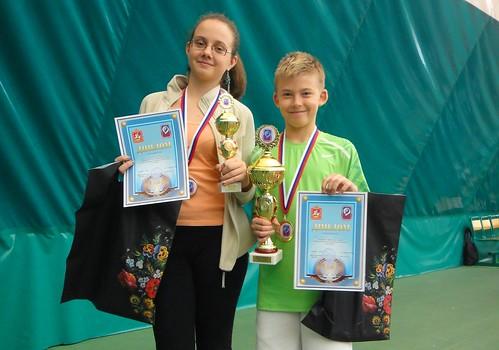 в теннисном центре Пироговский