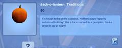 Jack-o-Lantern Traditional