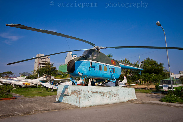 Helicopter used to ferry 'Uncle Ho' around