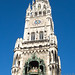 Rathaus-Glockenspiel at Marienplatz in Munich