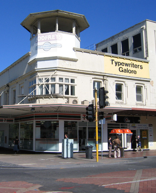 'Typewriters Galore' in the main street of Geelong