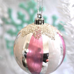 DIY painted bauble