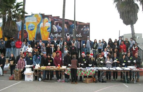 'Feed the Homeless' Thanksgiving in Venice!
