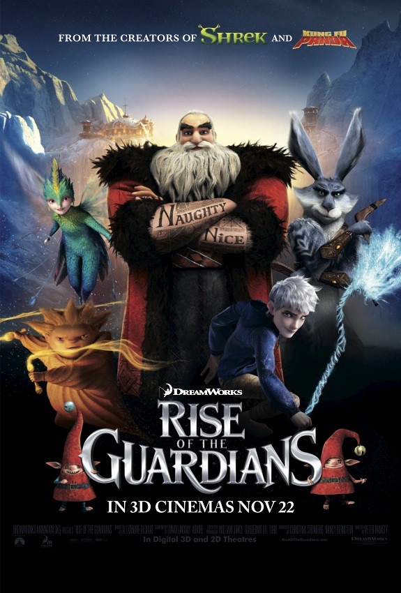 Rise of the Guardians - in Singapore cinemas from 22 Nov 2012