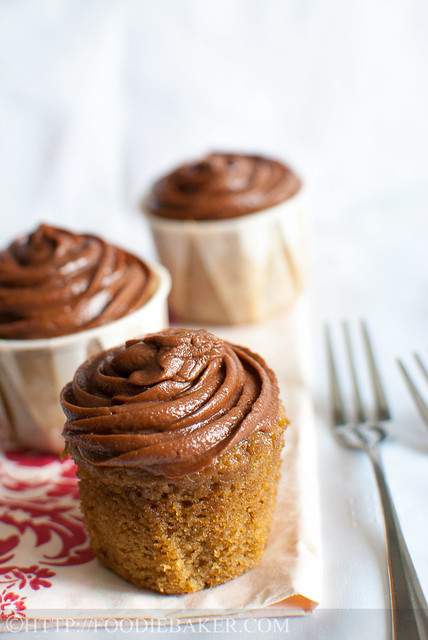 Vietnamese Coffee Cupcakes with Mocha Buttercream Frosting