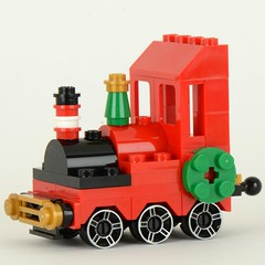 Christmas train improve loco