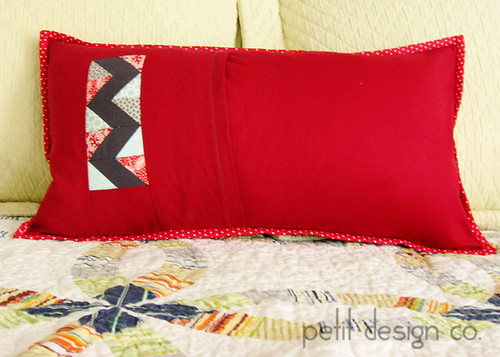 Holiday Lane Pillow - back