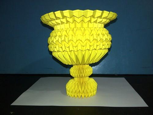 New Design Cup, Paper Folding / Nuevo Diseño Copa, Papel Plegado 8