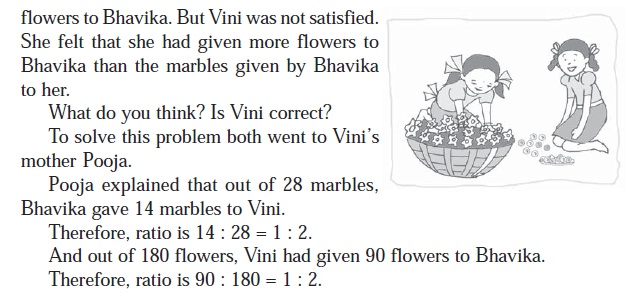 NCERT Class VI Mathematics Chapter 12 Ratio and Proportion