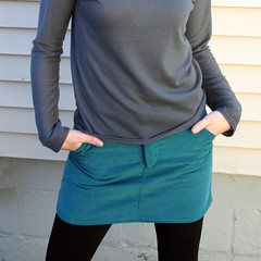 Moss Mini Skirt