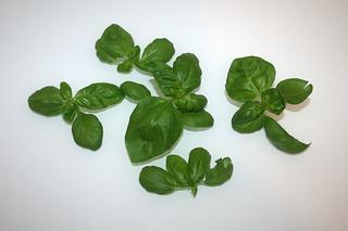 09 - Zutat Basilikum / Ingredient basil