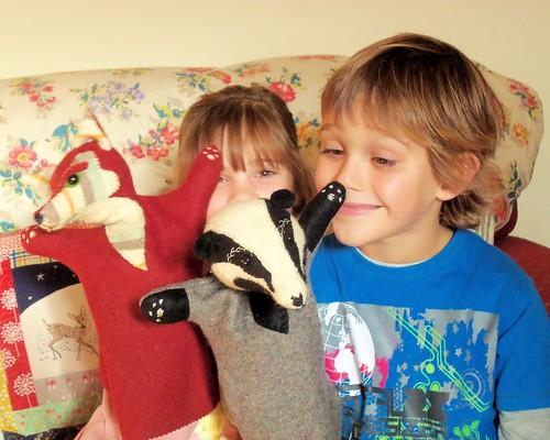 Woodland Glove Puppets