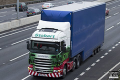 Scania R440 6x2 Tractor - PE12 LKG - Paighton Lee - Green & Red - 2012 - Eddie Stobart - M1 J10 Luton - Steven Gray - IMG_0291