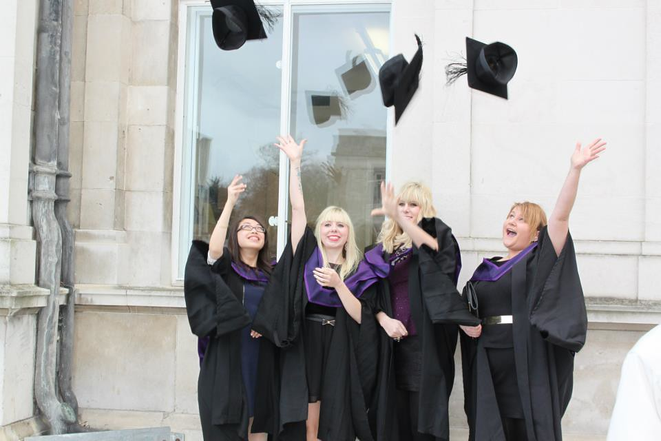 daisybutter - UK Style and Fashion Blog: what i did, Writing Fashion and Culture, graduation, SSU